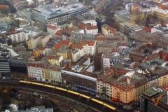 Вид с берлинской телебашни