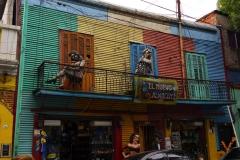 знаменитая улица Каминито Буэнос Айрес