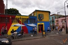 бар в районе Ла-Бока Буэнос Айрес