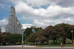 Буэнос Айрес площадь Сан Мартин