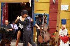 танго в La Boka Буэнос Айрес