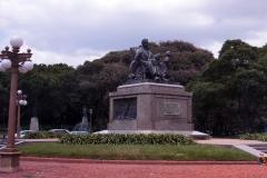 памятник Бессмертный дедушка