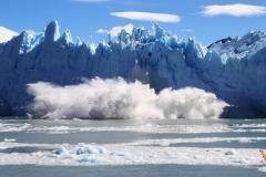 движение ледника Перито Морено