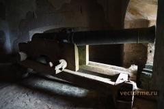 пушка в Цитадели Гаити