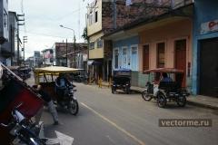 улицы Икитоса Перу