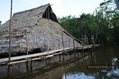 Индейцы на Амазонке