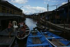 водное такси на амазонке