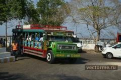 Оригинальный туристический автобус - Картахена Колумбия