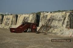 Неприступные стены Сан-Фелипе-де-Барахас