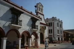 Испанские постройки в Картахене