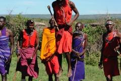 Мужчины племени Масаи