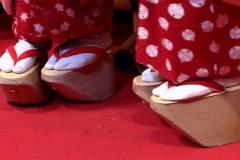Традиционная обувь майко