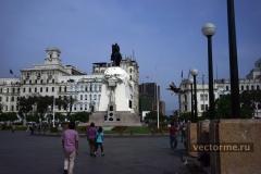Площадь Сан Мартин Лима (Перу)