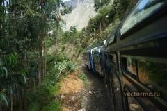 поезд PERU RAIL