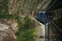 железная дорога на Мачу Пикчу