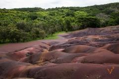 Семицветные пески (Маврикий)