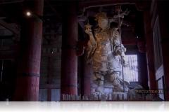 Нио храма Тодайджи в Наре