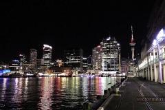 Ночная бухта Окленда