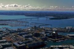 Вид на Окленд с телебашни