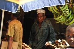 продавец бананов (Занзибар)
